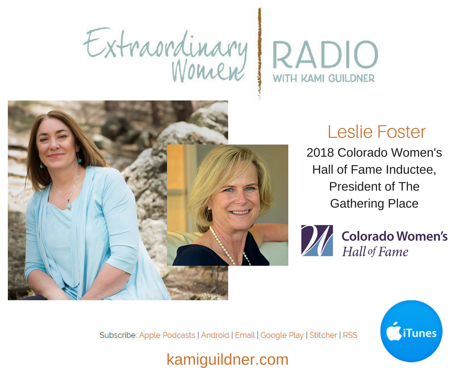 Leslie Foster featured on Extraordinary Women Radio