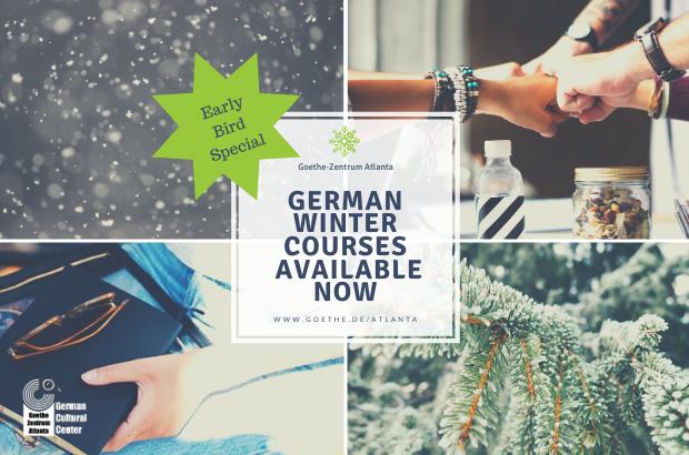 Register for a Winter Quarter German language course now!