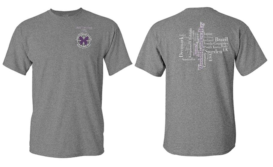 World HypoPara T-shirt