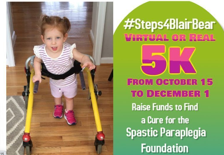 #Steps4BlairBear Virtual 5K
