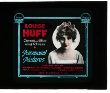 Magic Lantern slide for Paramount Pictures