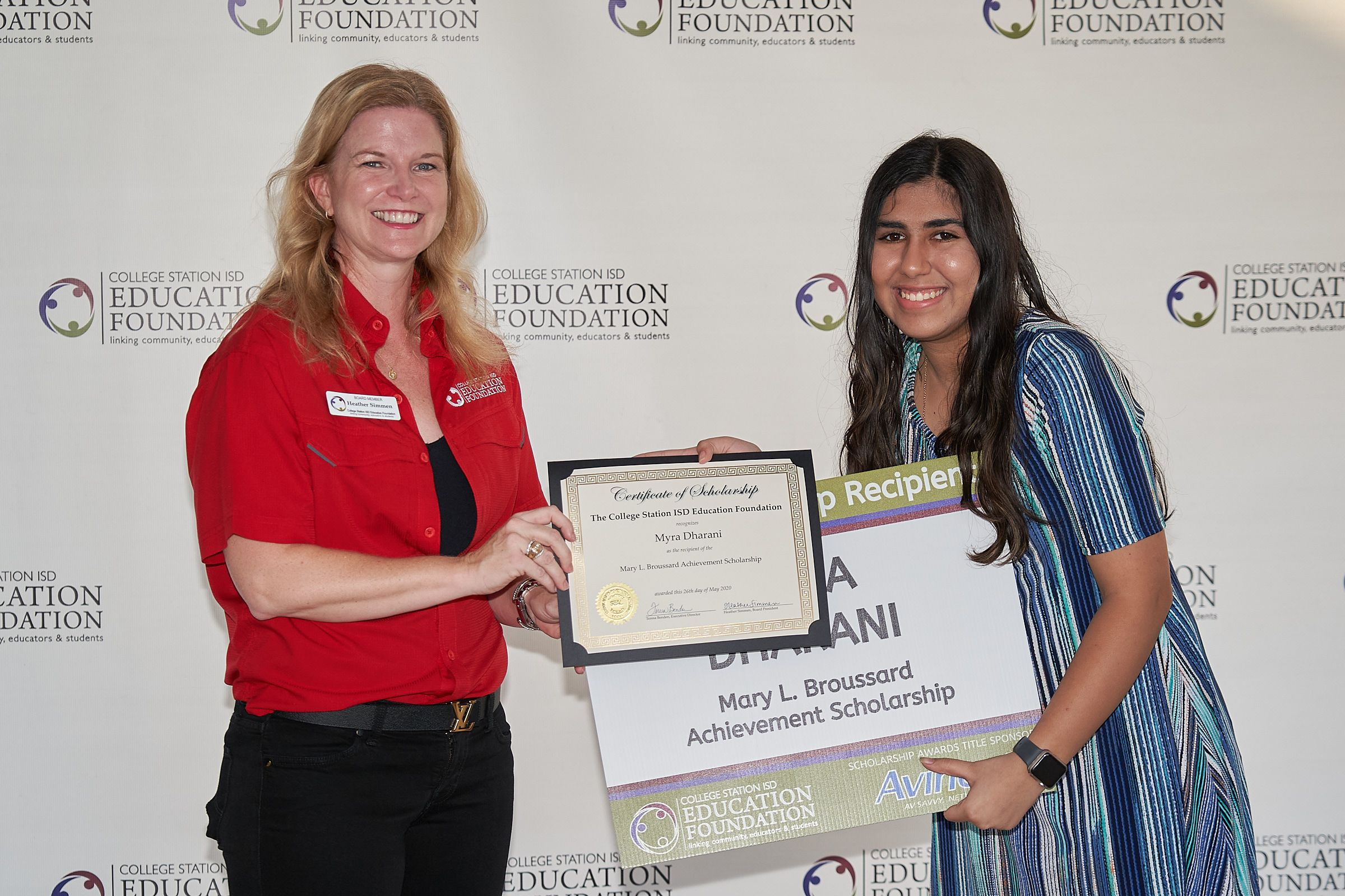 College Station ISD Education Foundation honors scholarship recipients