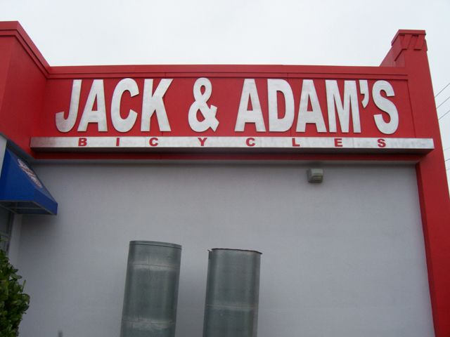 Jack & Adam's Bicycles- Manufacture & Installation
