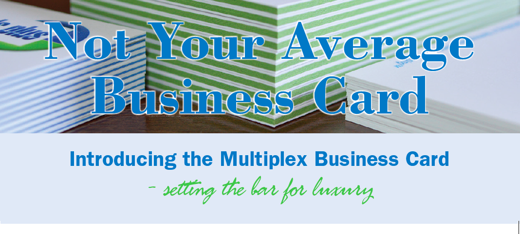 Multi-Plex Business Cards