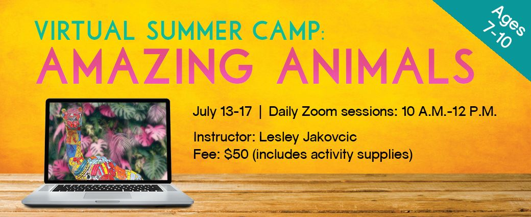 Virtual Summer Camp: Amazing Animals