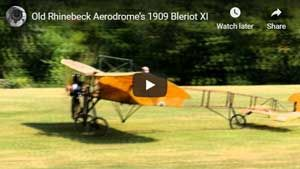 The Bleriot Takes to the Air!