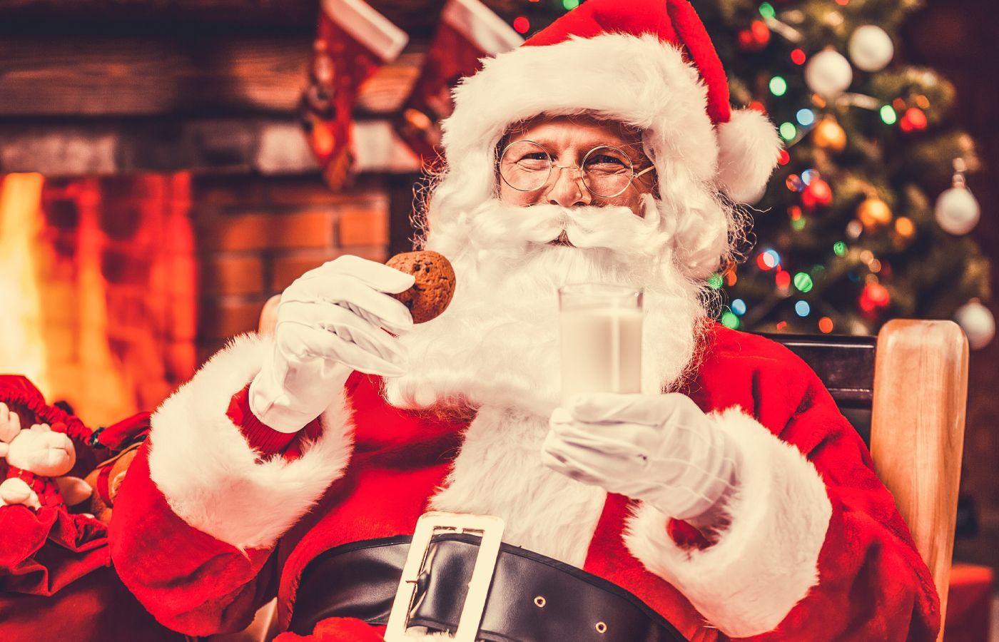 Virtual Cookies with Santa