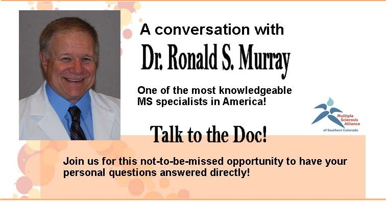 Zoom Interview with Dr. Murray