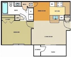 1 Bedroom 1 Bath