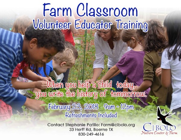FARM: Farm Classroom Volunteer Training