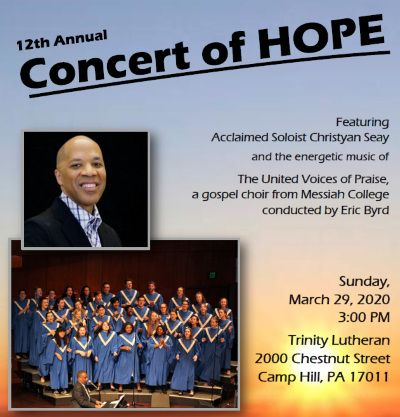 2020 Concert of Hope