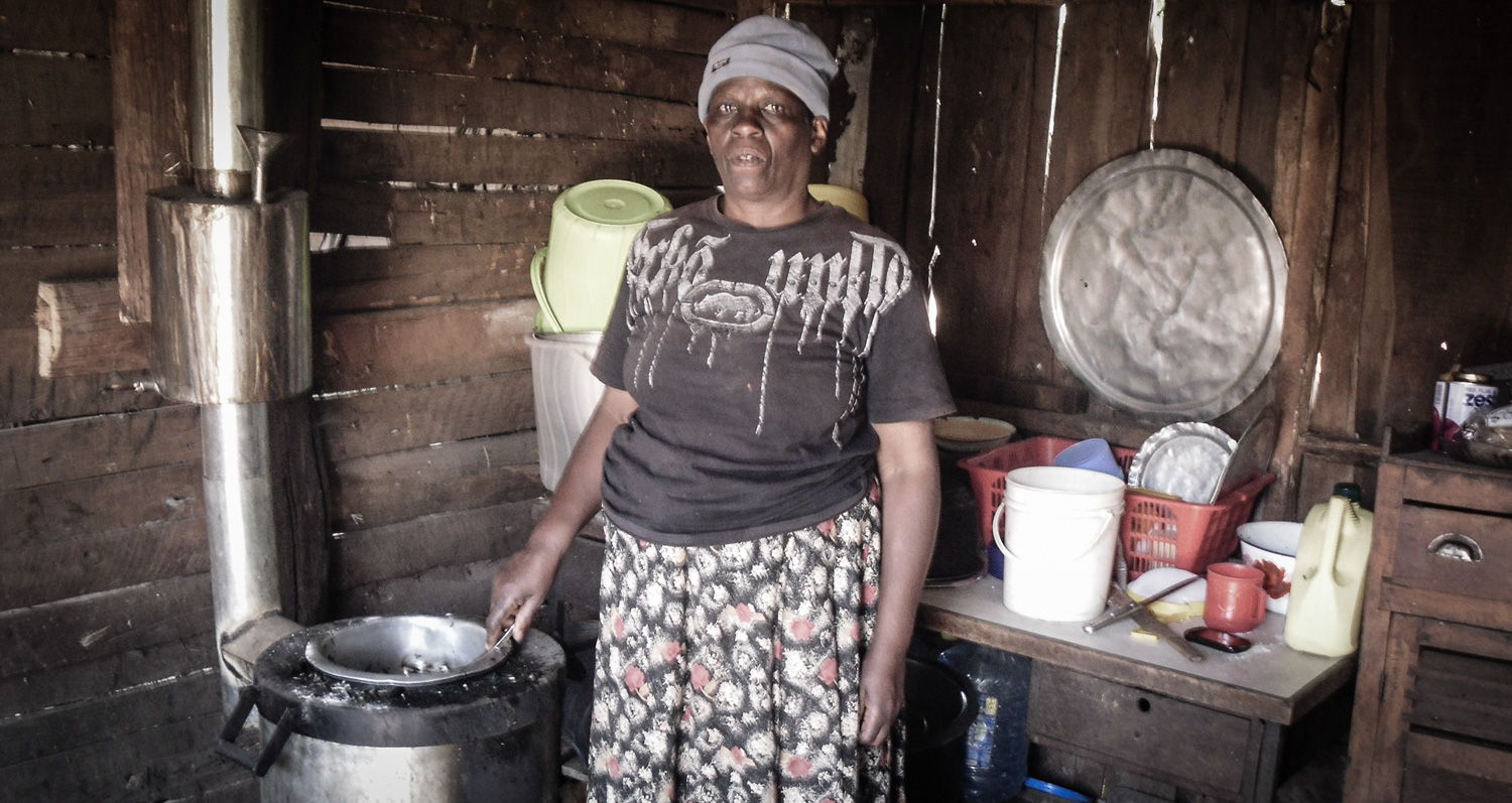 ROSE: MOTHER of DOMINIC - who was scalded by water being boiled for Ugali on a 3-stone fire. | NAKURU