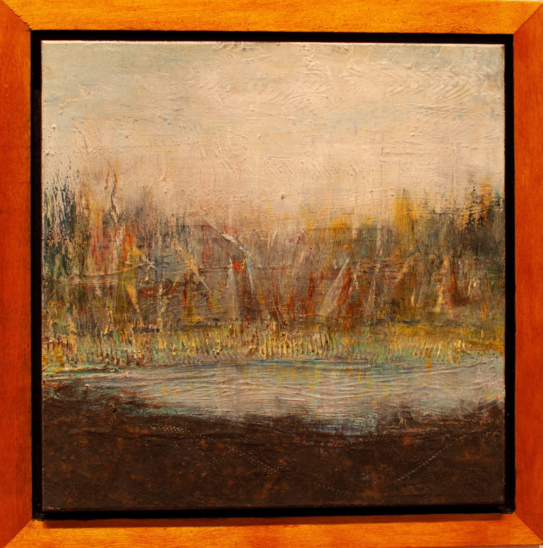 "Sandy Shepard - ""Inspiration at Ward Lake"""