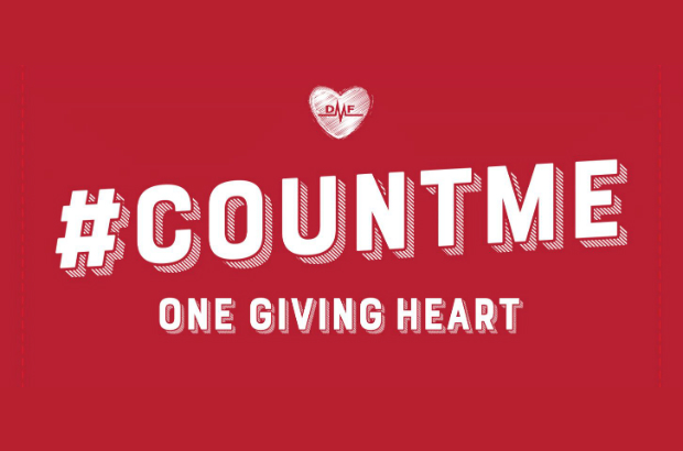 Giving Hearts Day is February 8, 2018