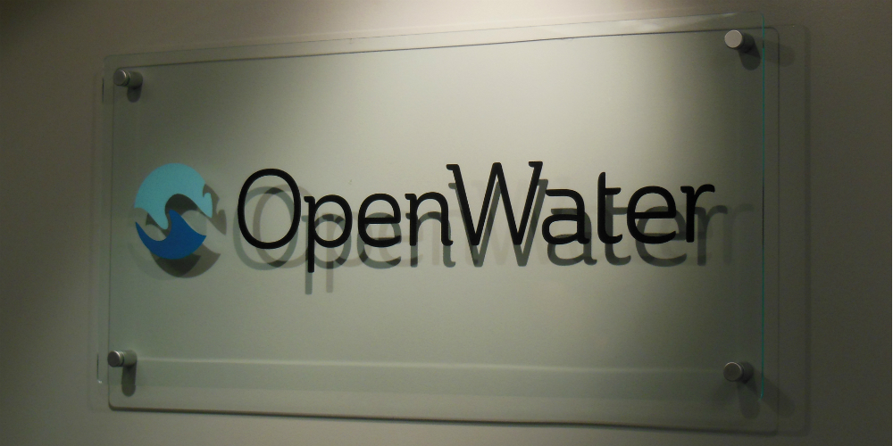 Custom Glass And Plexiglas Signs Office Lobby Signage