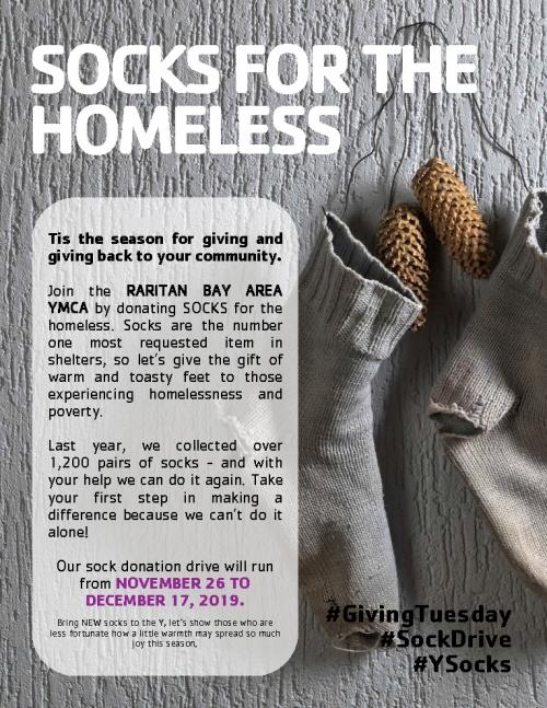 Socks for the Homeless