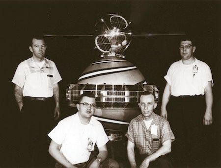 1960: GRAB, first reconnaissance satellite, launched.