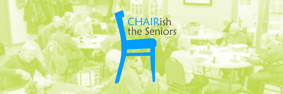 Link to Chairish the Senior campaign donation page