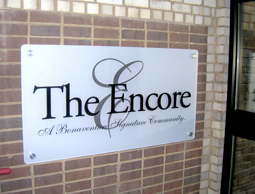 The Encore - Entrance Sign