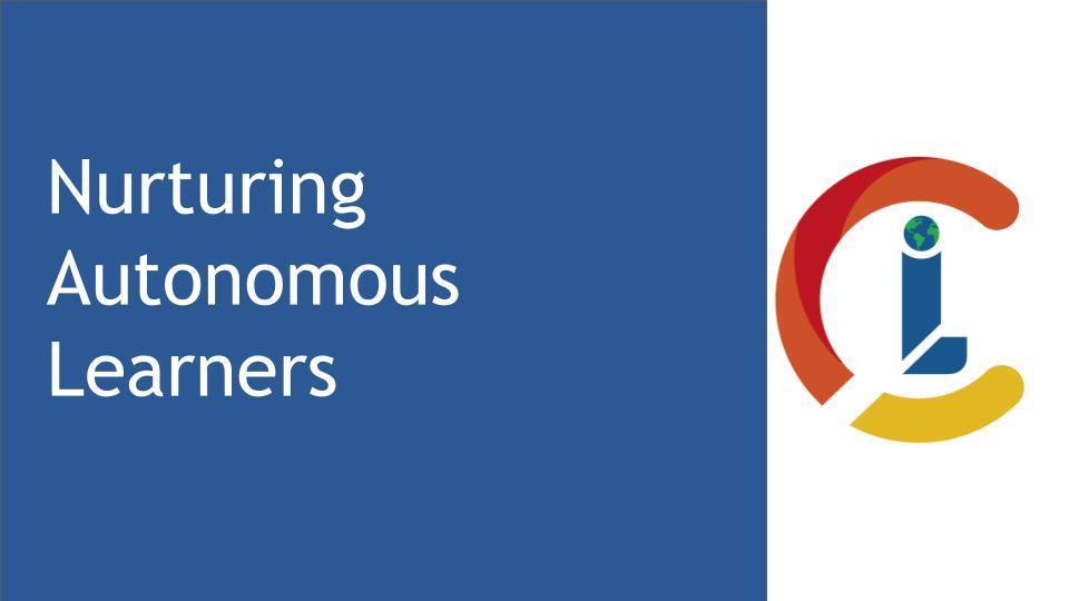 Nurturing Autonomous Learners