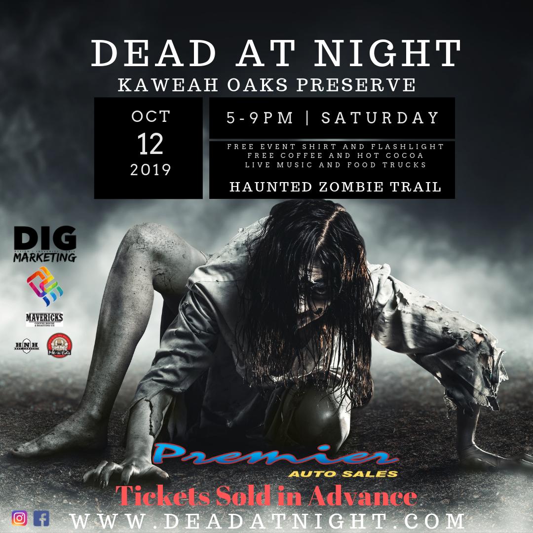 Be a zombie at Kaweah Oaks!