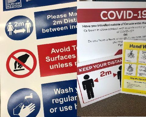 Safety - Advisory Signs & Posters