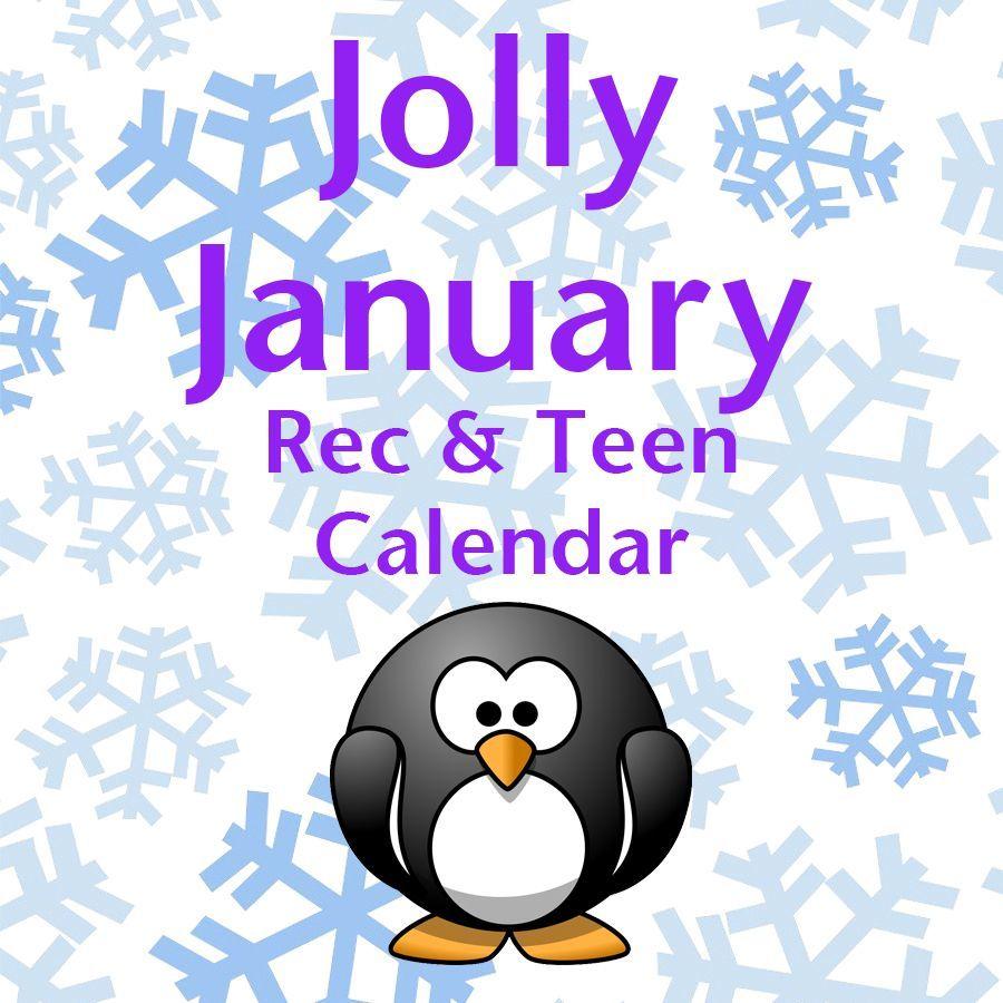 Jan Rec & Teen Calendar