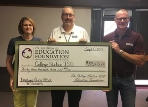 SISD Employees Pledge over $100K to Education Foundation through Project SMILE