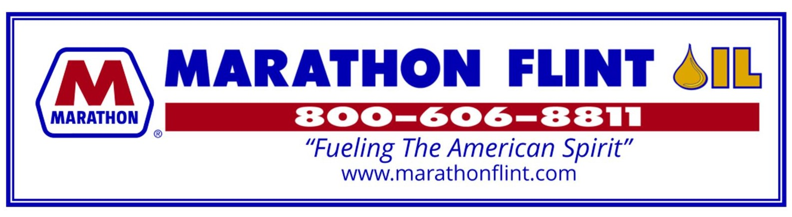 Thank you to our Maine Coon Sponsor~Marathon Flint Oil