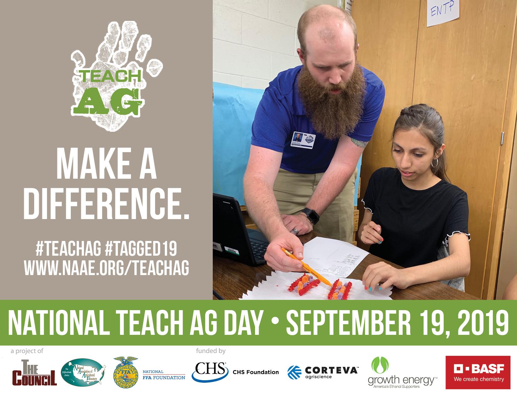 Celebrating Agriculture Teachers on Teach Ag Day