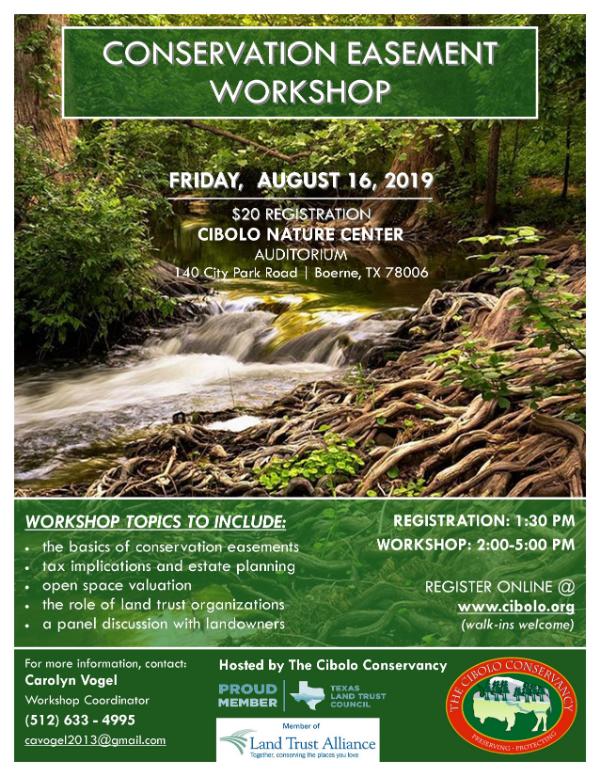 CNC: Conservation Easement Workshop