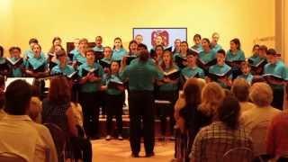 Miami Children's Chorus Koudjay, Sydney Guillaume Italy 2013