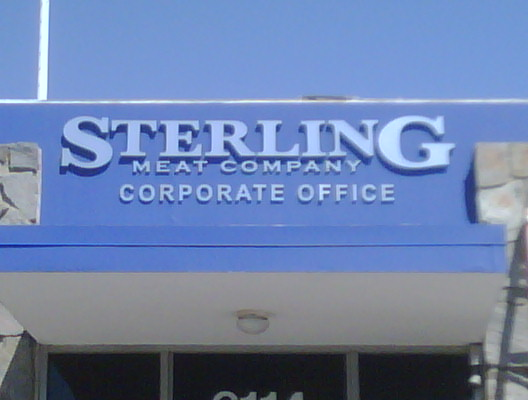 STERLING 3D LETTERS