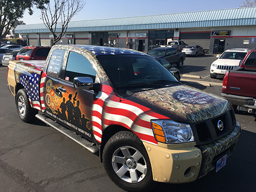 2008 Nissan Titan Tribute Wrap