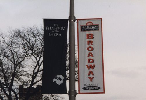 Avenue or Street Type Vinyl Banners with Pole Pockets & Mounting Hardware