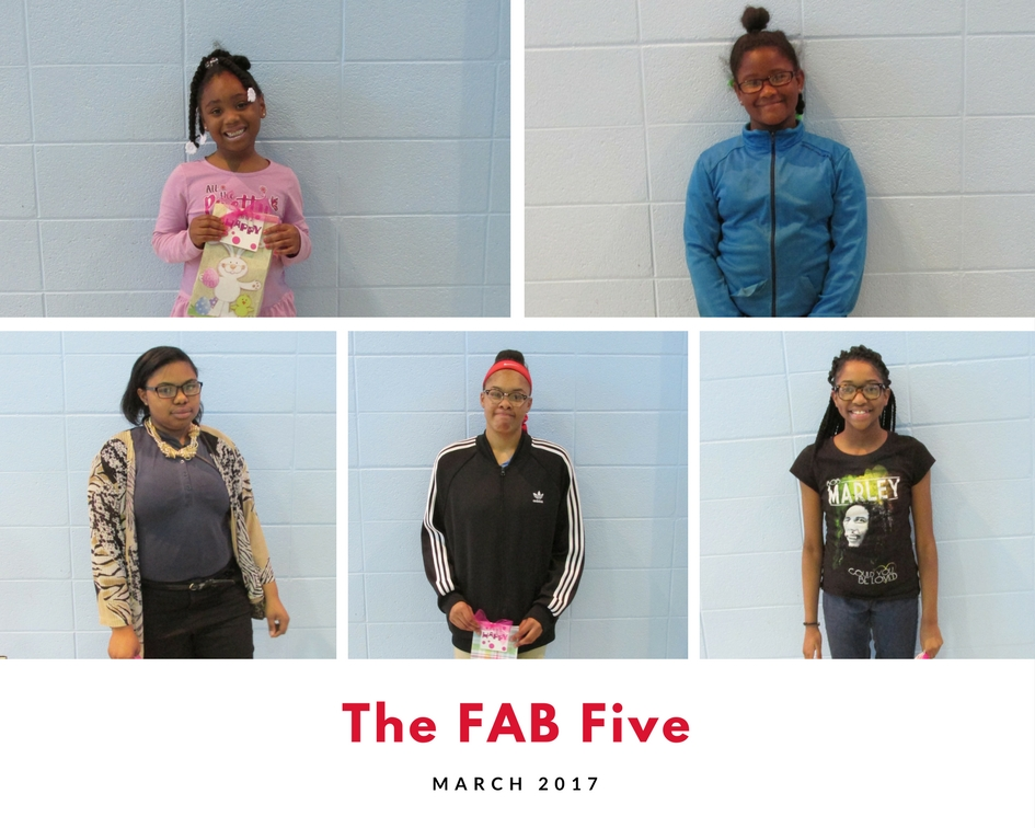 March 2017 FAB Five