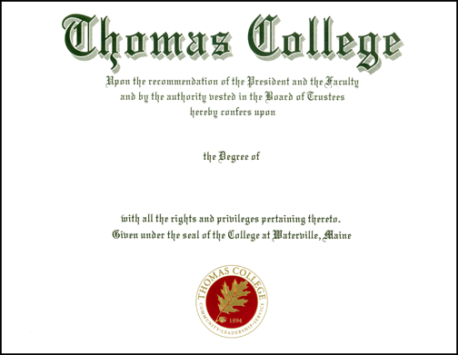Diploma Printing Sample, Diploma Printing Company, High School, College, Private School