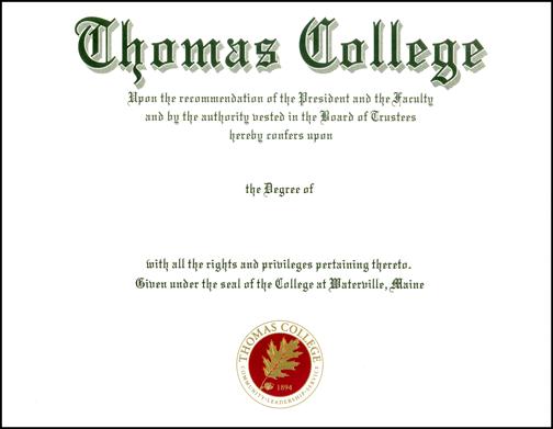 Diploma Printing Sample, Diploma Printing Company, High School, College, Private School