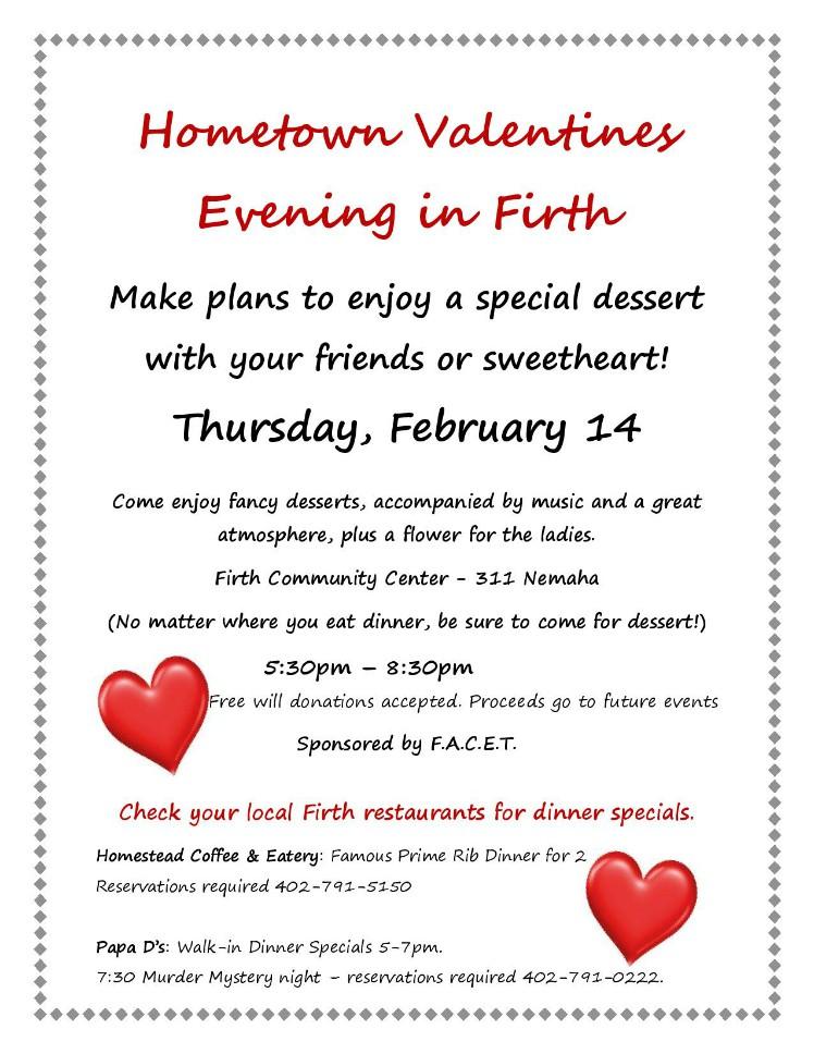 Annual Valentines Event