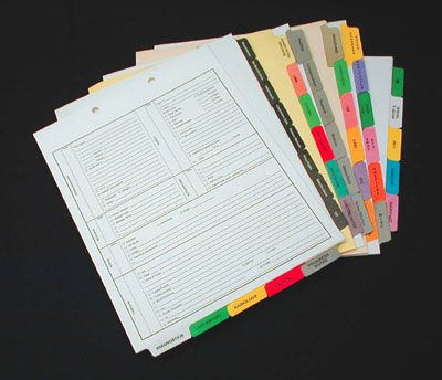 Custom Index Tabs