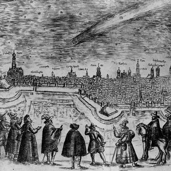 The Great Comet Confusion of 1619