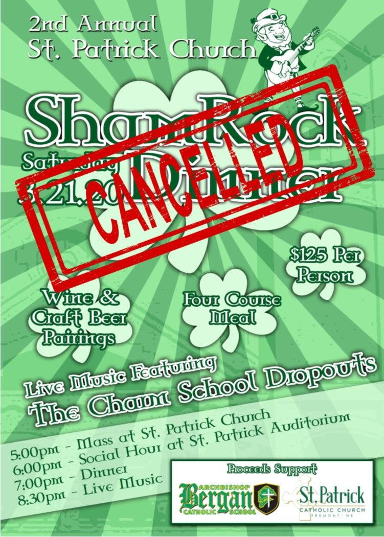 CANCELLED: ShamRock Dinner