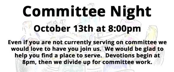 Committee Night