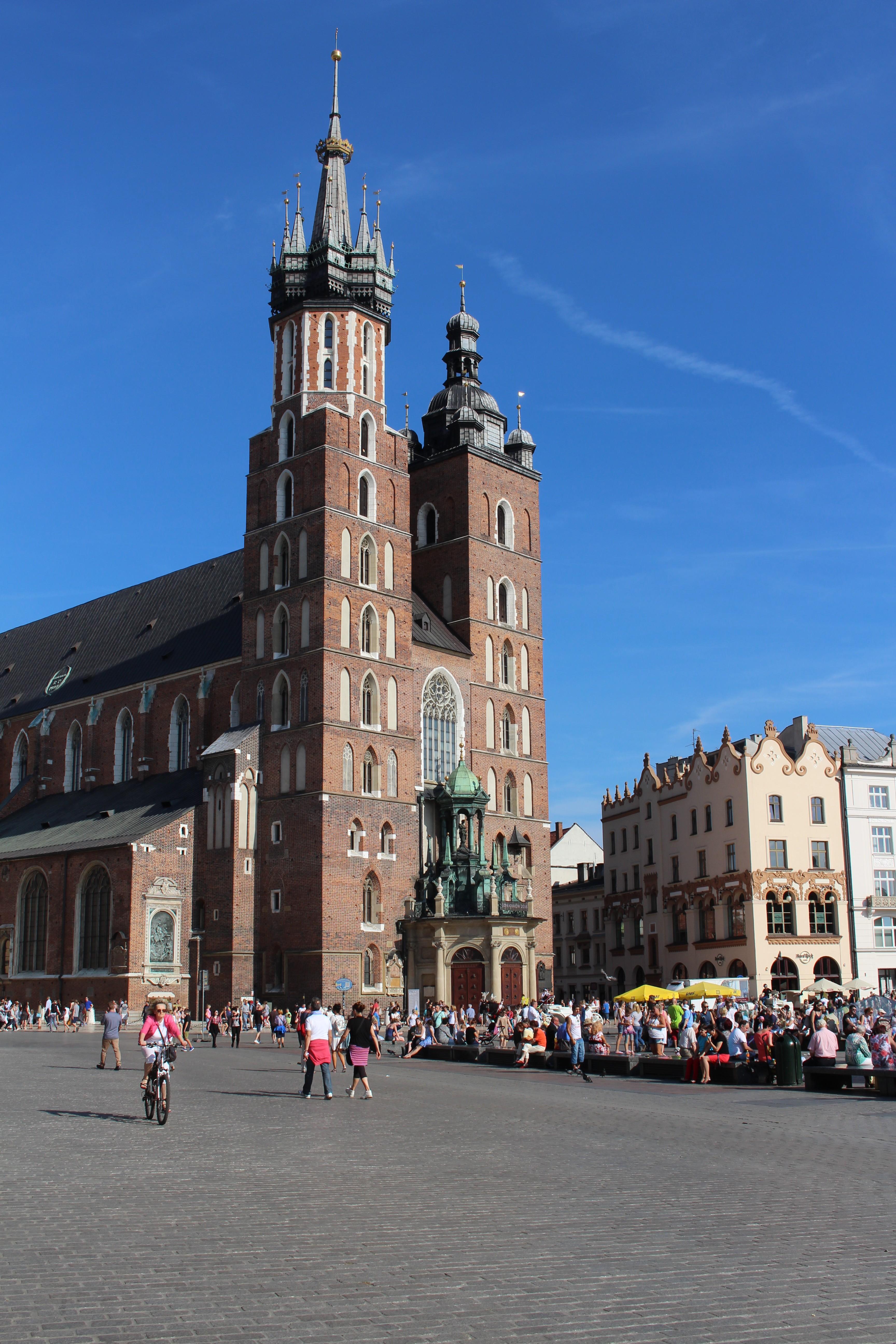 St. Mary's Basilica in Kraków, Poland