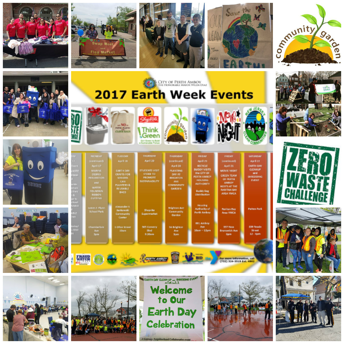 Earth Week and Neighborhood Watch April 2017