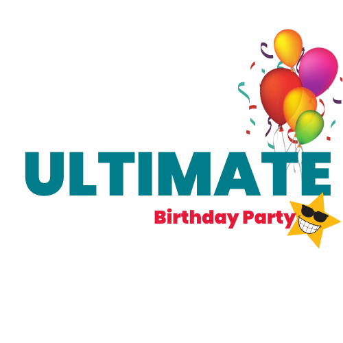 Ultimate birthday party logo