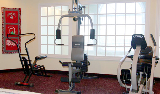 Waterford Exercise Equipment Room