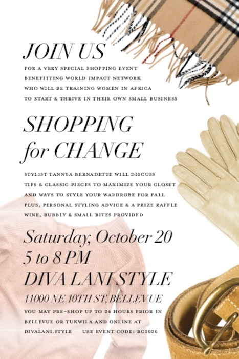 Shop for Change (Have Fun While Shopping)