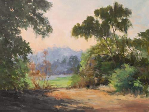 "Arroyo Vista, oil, 18"" x 24"""