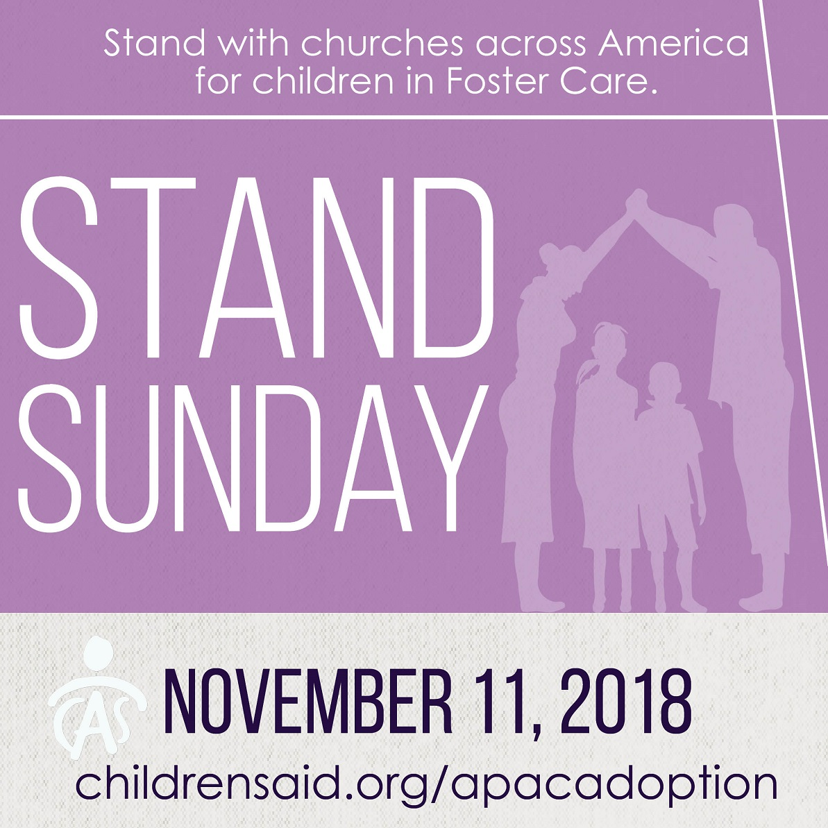 Stand Sunday is November 11!